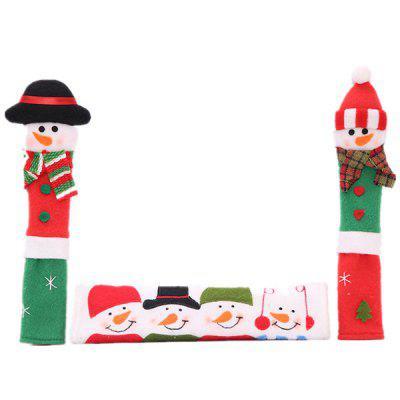 Christmas Non-woven Handle Cover SetChristmas Supplies<br>Christmas Non-woven Handle Cover Set<br><br>Package Contents: 1 x Set of Handle Covers<br>Package size (L x W x H): 23.00 x 14.00 x 1.00 cm / 9.06 x 5.51 x 0.39 inches<br>Package weight: 0.0650 kg<br>Product size (L x W x H): 23.00 x 14.00 x 0.50 cm / 9.06 x 5.51 x 0.2 inches<br>Product weight: 0.0600 kg<br>Usage: Christmas