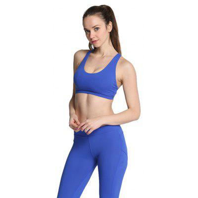 Women Ideal Sports Bra for Yoga ExerciseYoga<br>Women Ideal Sports Bra for Yoga Exercise<br><br>Features: Anti Sweat, Quick Dry<br>Gender: Female<br>Material: Nylon, Spandex<br>Package Content: 1 x Sports Bra<br>Package size: 33.00 x 20.00 x 2.00 cm / 12.99 x 7.87 x 0.79 inches<br>Package weight: 0.1120 kg<br>Product weight: 0.1020 kg<br>Size: L,M,S,XL<br>Type: Yoga Vest Bra<br>Types 1: Sports Bras