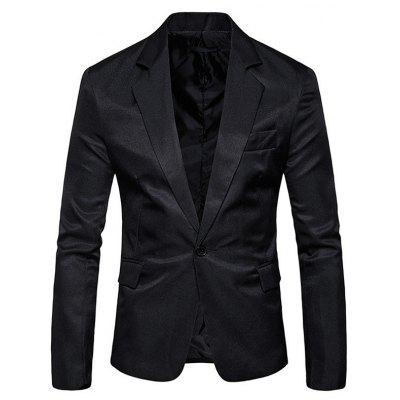 Masculino Business Casual Slim Soft Suit Blazer