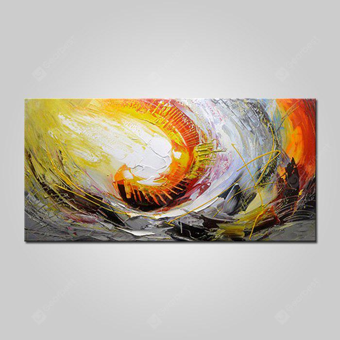 Mintura Hanging Oil Painting Abstract Canvas Wall Art