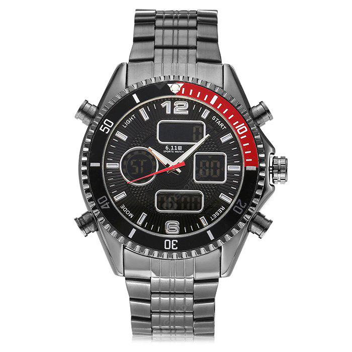 6.11 904 Stainless Steel Band Sports Men Watch