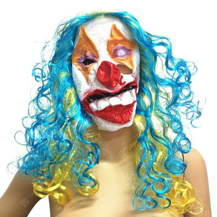Funny Clown Face Mask for Halloween 1PC