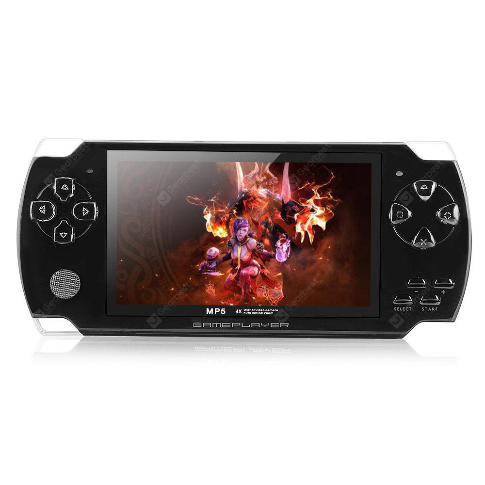 Portable 4,3 polegadas TFT 4 GB MP5 Player Game Console Rádio FM com TV - OUT e câmera de 3.0MP