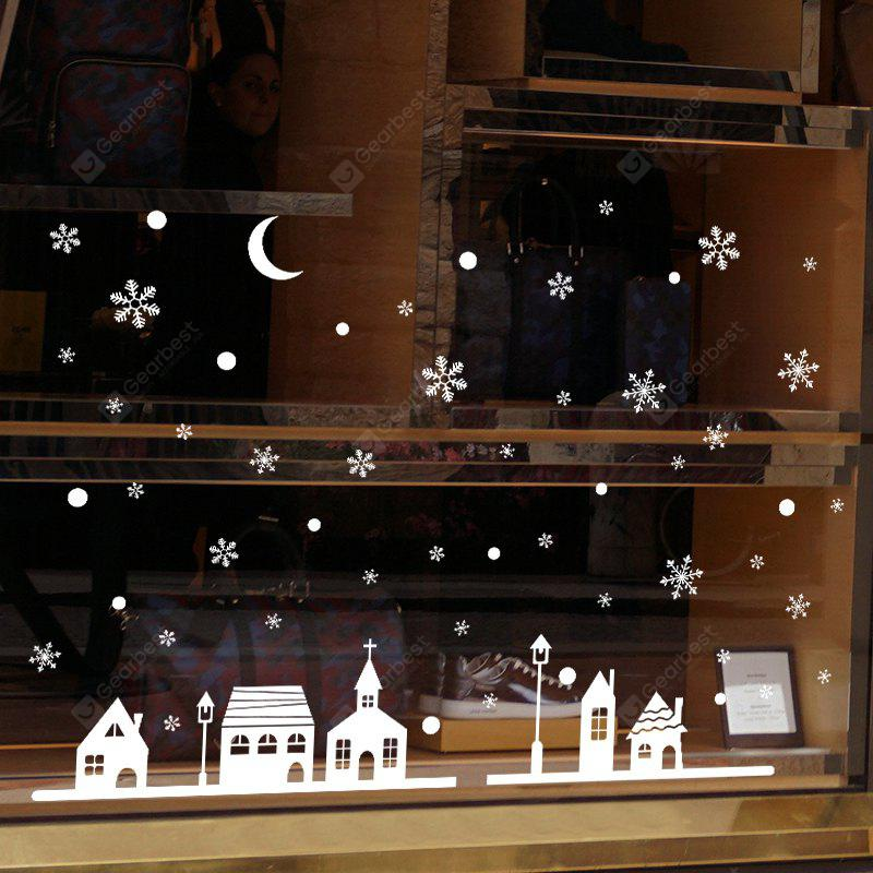 Christmas Window Mural Decal Decorative Wall Sticker