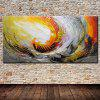 Mintura Hanging Oil Painting Abstract Canvas Wall Art - COLORMIX