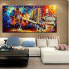 Mintura Modern Square Oil Painting Guitar Hanging Wall Art - COLORMIX