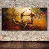 Mintura Modern Oil Painting Embrace Hanging Wall Art - COLORMIX