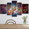 Violin Printed Painting Canvas Print 5PCS - COLORMIX