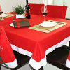 564 Decoration Tablecloth 1PC - RED