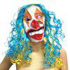 Funny Clown Face Mask for Halloween 1PC - COLORMIX