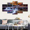 YSDAFEN River Printed Painting Canvas Print 5PCS - COLORMIX