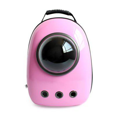 Buy PINK Bubble Traveler Backpack Pet Carriers for Dogs Cats for $58.13 in GearBest store