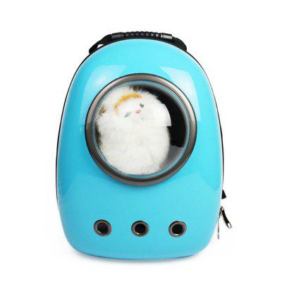 Buy WINDSOR BLUE Bubble Traveler Backpack Pet Carriers for Dogs Cats for $58.13 in GearBest store