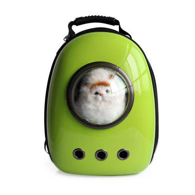 Buy GREEN Bubble Traveler Backpack Pet Carriers for Dogs Cats for $58.13 in GearBest store