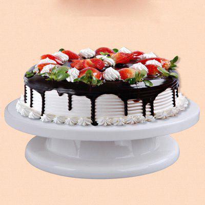 MCYH Plastic Cake Turntable Rotating Mounted Flower Stand