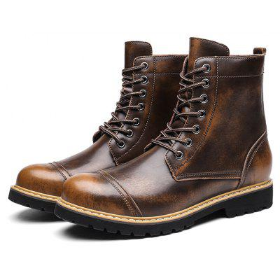 Masculino Classic Soft Brush-off Warmest High-top Martin Boots