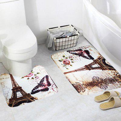 Absorbent Non-slip Eiffel Tower Print Bathroom Mat SetOther Bathroom Accessories<br>Absorbent Non-slip Eiffel Tower Print Bathroom Mat Set<br><br>Package Contents: 1 x Bathroom Mat Set<br>Package size (L x W x H): 15.00 x 10.00 x 10.00 cm / 5.91 x 3.94 x 3.94 inches<br>Package weight: 0.2500 kg<br>Product weight: 0.2000 kg