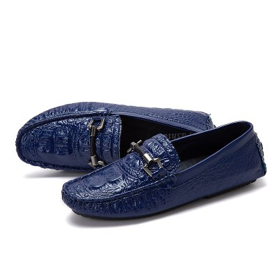 Male Business Lightweight Soft Crocodile Flat Casual LoaferFlats &amp; Loafers<br>Male Business Lightweight Soft Crocodile Flat Casual Loafer<br><br>Closure Type: Slip-On<br>Contents: 1 x Pair of Shoes, 1 x Box, 1 x Dustproof Paper<br>Function: Slip Resistant<br>Materials: Microfiber, Rubber<br>Occasion: Tea Party, Shopping, Party, Office, Holiday, Formal, Dress, Daily, Casual<br>Outsole Material: Rubber<br>Package Size ( L x W x H ): 33.00 x 24.00 x 13.00 cm / 12.99 x 9.45 x 5.12 inches<br>Package Weights: 0.80kg<br>Pattern Type: Solid<br>Seasons: Autumn,Spring<br>Style: Modern, Leisure, Formal, Fashion, Comfortable, Casual, Business<br>Toe Shape: Round Toe<br>Type: Flat Shoes<br>Upper Material: Microfiber