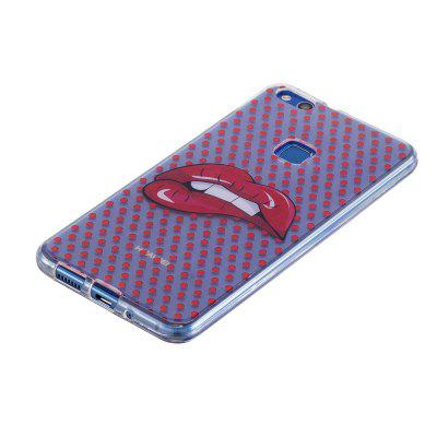 Buy Cartoon Pattern Painted TPU Clear Soft Case for HUAWEI P10 Lite, RED, Mobile Phones, Cell Phone Accessories, Cases & Leather for $4.05 in GearBest store