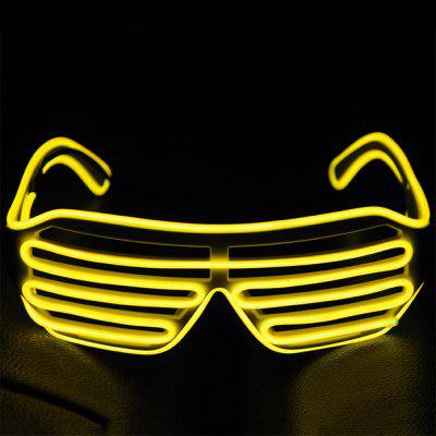 YouOKLight DC 3V Flash El LED Luminous Glasses 1PC