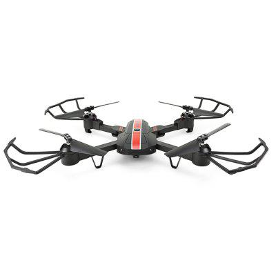 FQ777 FQ24 Foldable RC Selfie Drone - RTFRC Quadcopters<br>FQ777 FQ24 Foldable RC Selfie Drone - RTF<br><br>Battery: 3.7V 550mAh 25C lithium-ion<br>Brand: FQ777<br>Built-in Gyro: 6 Axis Gyro<br>Camera Pixels: 0.3MP<br>Channel: 4-Channels<br>Charging Time.: 60mins<br>Compatible with Additional Gimbal: No<br>Control Distance: 50-100m<br>Detailed Control Distance: 80M<br>Features: WiFi FPV, WiFi APP Control, Radio Control, Camera, Brushed Version<br>Flying Time: 6-8mins<br>FPV Distance: about 30 - 50m<br>Functions: Headless Mode, Air Press Altitude Hold, 3D rollover, Forward/backward, With light, Gravity Sense Control, WiFi Connection, Waypoints, Voice control, Up/down, Turn left/right, Speed up, Slow down, Sideward flight, One Key Automatic Return<br>Kit Types: RTF<br>Level: Beginner Level<br>Material: Electronic Components, Alloy, ABS/PS<br>Model: FQ24<br>Model Power: Built-in rechargeable battery<br>Motor Type: Brushed Motor<br>Package Contents: 1 x Quadcopter ( Battery Included ), 1 x Transmitter, 1 x Mobile Phone Holder, 1 x Screwdriver, 1 x Pack of Screws, 8 x Spare Blade, 1 x USB Cable, 2 x English Manual<br>Package size (L x W x H): 30.00 x 19.50 x 7.50 cm / 11.81 x 7.68 x 2.95 inches<br>Package weight: 0.5830 kg<br>Product weight: 0.1170 kg<br>Radio Mode: Mode 2 (Left-hand Throttle),WiFi APP<br>Remote Control: 2.4GHz Wireless Remote Control<br>Sensor: Barometer<br>Size: Medium<br>Transmitter Power: 3 x 1.5V AA battery(not included)<br>Type: Indoor, Quadcopter, Outdoor