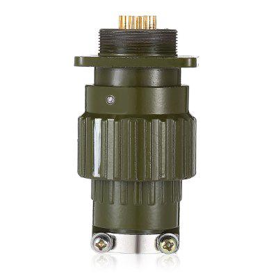 Y2 M21 - 3 Pin  Male to Female Aviation Connector Socket