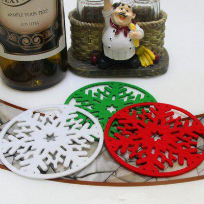 Buy Christmas Snowflake Shape Coasters 1PC, COLORMIX, Home & Garden, Party Supplies, Christmas Supplies for $1.34 in GearBest store
