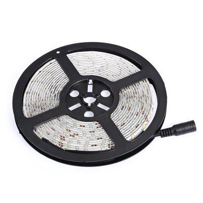 LED Strip Waterproof SMD2835 for Festival Decor 5MLED Strips<br>LED Strip Waterproof SMD2835 for Festival Decor 5M<br><br>Beam Angle: 360 degree<br>Bulb Included: Yes<br>Color Temperature or Wavelength: 580 - 590nm<br>Features: Festival Lighting, Cuttable<br>Initial Lumens ( lm ): 10 - 12LM<br>LED Quantity: 300<br>Length ( m ): 5<br>Light Source: 2835 SMD<br>Light Source Color: Yellow<br>Package Content: 1 x 5m LED Strip<br>Package size (L x W x H): 26.50 x 14.50 x 5.50 cm / 10.43 x 5.71 x 2.17 inches<br>Package weight: 0.6400 kg<br>Power Supply: 12V<br>Product weight: 0.1430 kg<br>Type: LED Strip Light<br>Voltage: DC12V<br>Waterproof Rate: IP65<br>Wattage (W): 30W