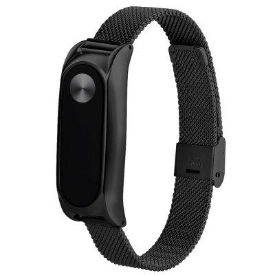 TAMISTER Stainless Steel Magnetic Back Cover WristbandSmart Watch Accessories<br>TAMISTER Stainless Steel Magnetic Back Cover Wristband<br><br>Brand: TAMISTER<br>Compatible with: Xiaomi Mi Band 2<br>Material: Stainless Steel<br>Package Contents: 1 x Wristband<br>Package size: 9.00 x 12.00 x 1.00 cm / 3.54 x 4.72 x 0.39 inches<br>Package weight: 0.0630 kg<br>Product size: 24.20 x 1.90 x 0.70 cm / 9.53 x 0.75 x 0.28 inches<br>Product weight: 0.0400 kg