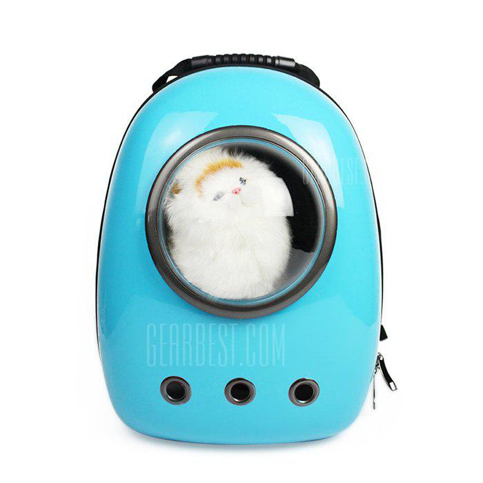 WINDSOR BLUE Bubble Traveler Backpack Pet Carriers for Dogs Cats