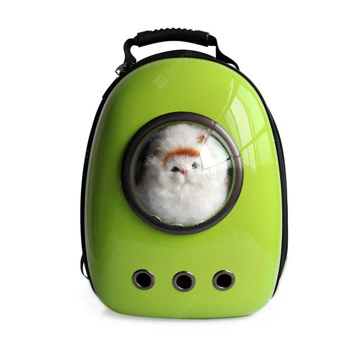GREEN Bubble Traveler Backpack Pet Carriers for Dogs Cats