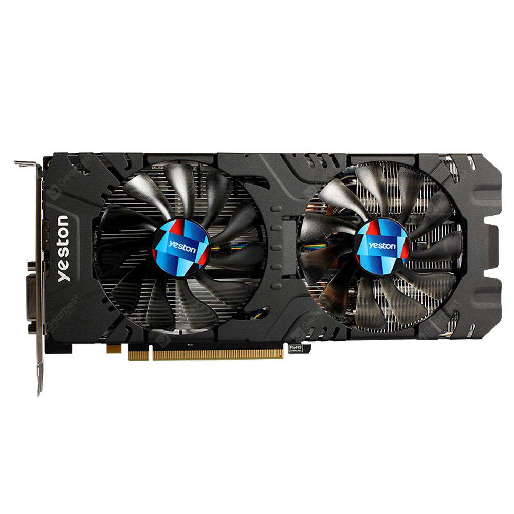 Bons Plans Gearbest Amazon - Yeston AMD Radeon RX570 GDDR5 Graphics Card GAEA Series 256bit 2048 Units 1244MHz Core Clock