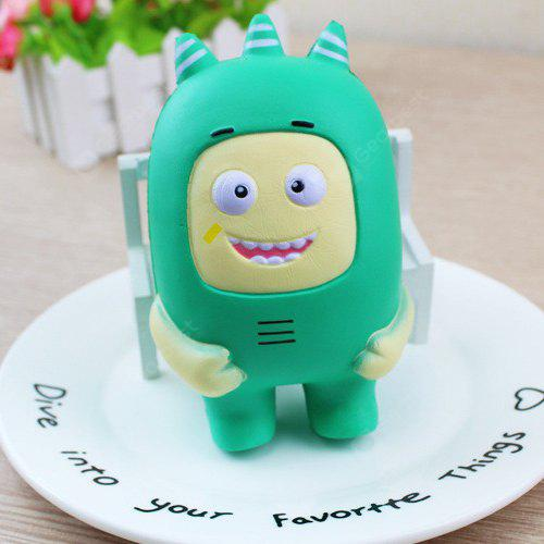 Cute Jumbo Squishy Slow Rising Stress Relief Toy 1pc, GREEN, Toys & Hobbies, Stress & Fidget Toys, Squishy toys