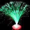 Color Changing LED Fiber Optic Lamp Home Decoration Light - COLORMIX