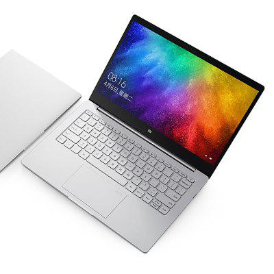 Xiaomi Notebook Air 13.3Laptops<br>Xiaomi Notebook Air 13.3<br><br>3.5mm Headphone Jack: Yes<br>AC adapter: 100-240V 5V 2A<br>Battery Type: 7.4V / 5400mAh,  Li-ion polymer battery<br>Bluetooth: Bluetooth 4.1<br>Brand: Xiaomi<br>Caching: 3MB<br>Camera type: Single camera<br>Charger: 1<br>Charging Time.: 1-2 hours<br>Core: 2.5GHz, Dual Core<br>CPU: Intel Core i5-7200U<br>CPU Brand: Intel<br>CPU Series: Core i5<br>Display Ratio: 16:9<br>Fingerprint Identification: Supported<br>Front camera: 1.0MP<br>Graphics Card Frequency: 300MHz - 1.00GHz<br>Graphics Chipset: Intel HD Graphics 620<br>Graphics Type: Graphics Card<br>Hard Disk Interface Type: M.2<br>Hard Disk Memory: 256GB SSD<br>LAN Card: Yes<br>Languages: Windows OS is built-in Chinese language pack<br>MIC: Supported<br>Model: Air 13.3<br>MS Office format: Word, Excel, PPT<br>Notebook: 1<br>OS: Windows 10<br>Package size: 38.50 x 30.00 x 12.00 cm / 15.16 x 11.81 x 4.72 inches<br>Package weight: 2.4730 kg<br>Picture format: BMP, PNG, JPG, JPEG, GIF<br>Power Consumption: 7.5W<br>Process Technology: 14nm<br>Product size: 30.90 x 21.10 x 1.48 cm / 12.17 x 8.31 x 0.58 inches<br>Product weight: 1.3110 kg<br>RAM: 4GB<br>Screen resolution: 1920 x 1080 (FHD)<br>Screen size: 13.3 inch<br>Screen type: IPS<br>Skype: Supported<br>Speaker: Built-in Dual Channel Speaker<br>Standard HDMI Slot: Yes<br>Standby time: 7-8 hours<br>Threading: 4<br>Type: Notebook<br>Type-C: Yes<br>USB Host: Yes (2x USB 3.0 Host)<br>WIFI: 802.11 a/b/g/n/ac wireless internet<br>WLAN Card: Yes<br>Youtube: Supported