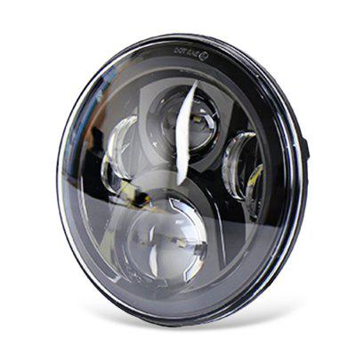 7 Headlight Round Motorcycle Headlight Round Head Light with Halo Ring for Jeep Wrangler JKCar Lights<br>7 Headlight Round Motorcycle Headlight Round Head Light with Halo Ring for Jeep Wrangler JK<br><br>Apply lamp position: External Lights<br>Apply To Car Brand: Jeep<br>Color temperatures: 6000K<br>Connector: H13, H4<br>Emitting color: White<br>Feature: Waterproof/Dustproof, Spotlight, Power saver, Low Power Consumption, Easy to use<br>Identification: CE,ISO9000,RoHs<br>LED Type: SMD2525<br>Lumens: 4000 lm / 2400 lm<br>Material: Metal<br>Package Contents: 1 x LED Headlight, 1 x Connect Wire<br>Package size (L x W x H): 20.00 x 20.00 x 13.50 cm / 7.87 x 7.87 x 5.31 inches<br>Package weight: 1.3500 kg<br>Product size (L x W x H): 17.80 x 10.50 x 17.80 cm / 7.01 x 4.13 x 7.01 inches<br>Product weight: 1.2500 kg<br>Type: Car LED<br>Type of lamp-house: LED<br>Voltage: DC 12 - 28V