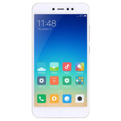 Xiaomi Redmi Note 5A 3GB RAM 4G PhabletCell phones<br>Xiaomi Redmi Note 5A 3GB RAM 4G Phablet<br><br>2G: GSM 1800MHz,GSM 1900MHz,GSM 850MHz,GSM 900MHz<br>3G: WCDMA B1 2100MHz,WCDMA B2 1900MHz,WCDMA B5 850MHz,WCDMA B8 900MHz<br>4G LTE: FDD B1 2100MHz,FDD B20 800MHz,FDD B3 1800MHz,FDD B4 1700MHz,FDD B5 850MHz,FDD B7 2600MHz,FDD B8 900MHz,TDD B38 2600MHz,TDD B40 2300MHz<br>Additional Features: Alarm, 3G, 4G, Browser, WiFi, Calculator, Calendar, Camera, E-book, Fingerprint recognition, Fingerprint Unlocking, MP3, MP4<br>Back-camera: 13.0MP<br>Battery Capacity (mAh): 3080mAh (typ) / 3000mAh (min)<br>Battery Type: Non-removable<br>Bluetooth Version: Bluetooth V4.2<br>Brand: Xiaomi<br>Camera type: Dual cameras (one front one back)<br>Cell Phone: 1<br>Cores: Octa Core, 1.4GHz<br>CPU: Snapdragon 435<br>External Memory: TF card up to 128GB (not included)<br>Front camera: 16.0MP<br>Google Play Store: Yes<br>GPU: Adreno 505<br>I/O Interface: 2 x Nano SIM Slot, Micro USB Slot, Micophone, TF/Micro SD Card Slot, Speaker<br>Language: Indonesian, Malay, English, Spanish, French, Polish, Portuguese, Roumanian, Vietnamese, Turkish, Czech, Russian, Ukrainian, Hindi, Marathi, Bengli, Gujarati, Punjabi, Assamese, Tamil, Telugu, Kannada,<br>Music format: WAV, MP3, FLAC<br>Network type: FDD-LTE,GSM,TDD-LTE,WCDMA<br>OS: MIUI 8 or MIUI 8 Above<br>Package size: 17.20 x 8.60 x 6.00 cm / 6.77 x 3.39 x 2.36 inches<br>Package weight: 0.3000 kg<br>Picture format: JPEG, GIF, PNG, JPG, BMP<br>Power Adapter: 1<br>Product size: 15.30 x 7.62 x 0.77 cm / 6.02 x 3 x 0.3 inches<br>Product weight: 0.1530 kg<br>RAM: 3GB RAM<br>ROM: 32GB<br>Screen resolution: 1280 x 720 (HD 720)<br>Screen size: 5.5 inch<br>Screen type: 2.5D Arc Screen<br>Sensor: Accelerometer,Ambient Light Sensor,E-Compass,Gravity Sensor,Gyroscope,Infrared Radiation,Proximity Sensor<br>Service Provider: Unlocked<br>SIM Card Slot: Dual Standby, Dual SIM<br>SIM Card Type: Nano SIM Card<br>SIM Needle: 1<br>Type: 4G Phablet<br>USB Cable: 1<br>Vi