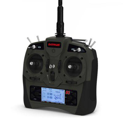 DETRUM GAVIN - 8C 2.4G 8CH RC Transmitter with SR86A Receiver