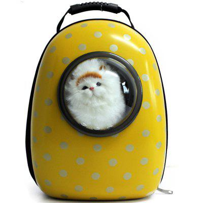 Buy YELLOW Cats Dogs Travel Breathable Space Capsule Bubble Backpack for $64.68 in GearBest store