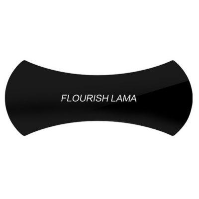 Flourish Lama Creative Nano Technology Mobile Phone StandStands &amp; Holders<br>Flourish Lama Creative Nano Technology Mobile Phone Stand<br><br>Accessories type: Stand<br>Colors: Black<br>Material: Silicone<br>Package Contents: 1 x Mobile Phone Holder<br>Package size (L x W x H): 20.00 x 11.50 x 0.50 cm / 7.87 x 4.53 x 0.2 inches<br>Package weight: 0.0790 kg<br>Product size (L x W x H): 15.00 x 5.50 x 0.50 cm / 5.91 x 2.17 x 0.2 inches<br>Product weight: 0.0580 kg