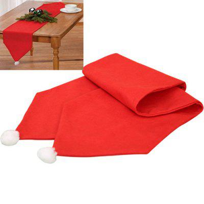 Buy Christmas Hat Design Tablecloth, RED, Home & Garden, Party Supplies, Christmas Supplies for $5.72 in GearBest store