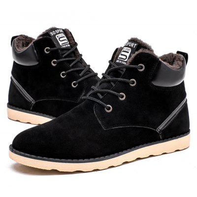 Male Warmest Ankle-top Fur Casual Leather ShoesCasual Shoes<br>Male Warmest Ankle-top Fur Casual Leather Shoes<br><br>Closure Type: Lace-Up<br>Contents: 1 x Pair of Shoes, 1 x Box, 1 x Dustproof Paper<br>Function: Slip Resistant<br>Materials: Rubber, PU<br>Occasion: Tea Party, Shopping, Riding, Party, Office, Holiday, Outdoor Clothing, Casual, Daily, Dress, Formal<br>Outsole Material: Rubber<br>Package Size ( L x W x H ): 33.00 x 24.00 x 13.00 cm / 12.99 x 9.45 x 5.12 inches<br>Package Weights: 0.90kg<br>Pattern Type: Solid<br>Seasons: Autumn,Winter<br>Style: Leisure, Modern, Formal, Fashion, Comfortable, Casual<br>Toe Shape: Round Toe<br>Type: Casual Leather Shoes<br>Upper Material: PU