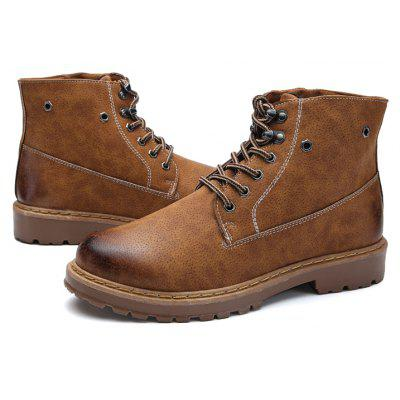Masculino Retro All-matched High-top Casual Martin Botas