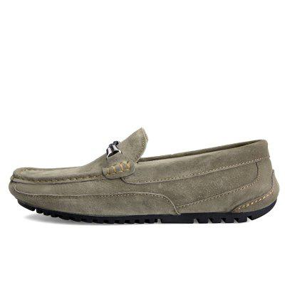 Male Soft Thin Stitching Driving Flat LoaferFlats &amp; Loafers<br>Male Soft Thin Stitching Driving Flat Loafer<br><br>Closure Type: Slip-On<br>Contents: 1 x Pair of Shoes, 1 x Box, 1 x Dustproof Paper<br>Function: Slip Resistant<br>Materials: Leather, Rubber<br>Occasion: Tea Party, Shopping, Party, Office, Holiday, Formal, Dress, Daily, Casual<br>Outsole Material: Rubber<br>Package Size ( L x W x H ): 33.00 x 24.00 x 13.00 cm / 12.99 x 9.45 x 5.12 inches<br>Package Weights: 0.80kg<br>Pattern Type: Solid<br>Seasons: Autumn,Spring<br>Style: Modern, Leisure, Formal, Fashion, Comfortable, Casual, Business<br>Toe Shape: Round Toe<br>Type: Flat Shoes<br>Upper Material: Leather