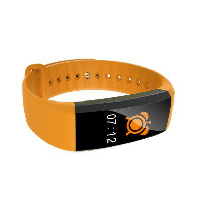M99 Heart Rate Sports SmartbandSmart Watches<br>M99 Heart Rate Sports Smartband<br><br>Alert type: Vibration<br>Anti-lost: Yes<br>Band material: TPU<br>Band size: 22.7 x 1.8 cm<br>Battery  Capacity: 90mAh<br>Bluetooth calling: Callers name display<br>Bluetooth Version: Bluetooth 4.0<br>Built-in chip type: NRF51822<br>Case material: Plastic<br>Charging Time: About 2hours<br>Compatability: Android 4.4 or above and iOS 8.0 or above<br>Compatible OS: Android, IOS<br>Dial size: 4.2 x 2.0 x 1.0 cm<br>Find phone: Yes<br>Groups of alarm: 3<br>Health tracker: Blood Oxygen,Blood Pressure,Heart rate monitor,Sedentary reminder,Sleep monitor<br>IP rating: IP67<br>Language: English,French,German,Italian,Japanese,Korean,Portuguese,Russian,Simplified Chinese,Spanish,Traditional Chinese<br>Messaging: Message sending<br>Notification type: WhatsApp, Instagram, Skype, Twitter, Wechat, Facebook<br>Operating mode: Touch Key<br>Package Contents: 1 x Smartband, 1 x Charging Cable, 1 x English-Chinese Manual<br>Package size (L x W x H): 11.00 x 9.00 x 2.90 cm / 4.33 x 3.54 x 1.14 inches<br>Package weight: 0.0850 kg<br>People: Female table,Male table<br>Product size (L x W x H): 22.70 x 2.00 x 1.00 cm / 8.94 x 0.79 x 0.39 inches<br>Product weight: 0.0210 kg<br>RAM: 64K<br>Remote control function: Remote Camera<br>ROM: 512K<br>Screen: OLED<br>Screen size: 0.96 inch<br>Shape of the dial: Rectangle<br>Standby time: 7 - 10 days<br>Waterproof: Yes