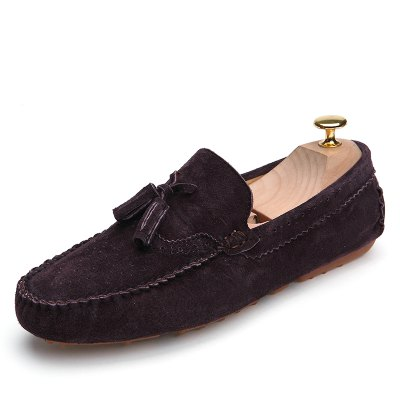 Buy BROWN 43 Male Business Breathable Soft Driving Flat Loafer for $38.60 in GearBest store