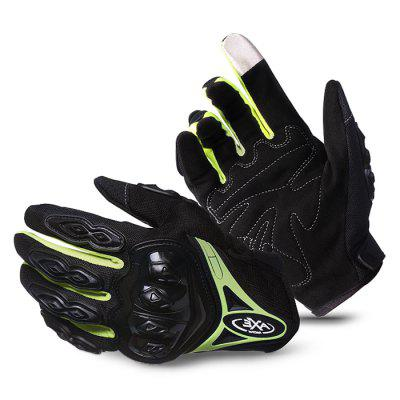 Pair of Full Finger Anti-slip Drop Resistant Cycling Gloves