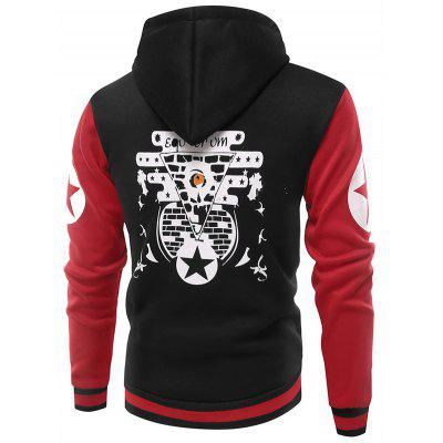 Fashion Unique Printing Hoodie JacketMens Hoodies &amp; Sweatshirts<br>Fashion Unique Printing Hoodie Jacket<br><br>Closure Type: Zipper<br>Clothes Type: Hoodie Jacket<br>Material: Cotton, Polyester<br>Occasion: Casual<br>Package Contents: 1 x Hoodie Jacket<br>Package size: 40.00 x 30.00 x 4.00 cm / 15.75 x 11.81 x 1.57 inches<br>Package weight: 0.4800 kg<br>Product weight: 0.4500 kg<br>Style: Casual<br>Thickness: Regular