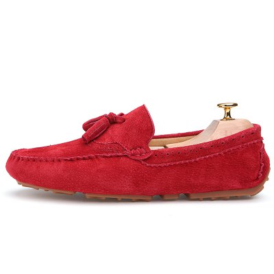 Male Business Breathable Soft Driving Flat LoaferFlats &amp; Loafers<br>Male Business Breathable Soft Driving Flat Loafer<br><br>Closure Type: Slip-On<br>Contents: 1 x Pair of Shoes, 1 x Box, 1 x Dustproof Paper<br>Function: Slip Resistant<br>Materials: TPR, Pigskin, Leather<br>Occasion: Tea Party, Shopping, Party, Office, Holiday, Formal, Dress, Daily, Casual<br>Outsole Material: TPR<br>Package Size ( L x W x H ): 33.00 x 24.00 x 13.00 cm / 12.99 x 9.45 x 5.12 inches<br>Package Weights: 0.80kg<br>Pattern Type: Solid<br>Seasons: Autumn,Spring<br>Style: Modern, Leisure, Formal, Fashion, Comfortable, Casual, Business<br>Toe Shape: Round Toe<br>Type: Flat Shoes<br>Upper Material: Leather,Pigskin