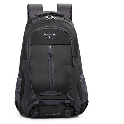 Outdoor Water-resistant Large Capacity Sports BackpackBackpacks<br>Outdoor Water-resistant Large Capacity Sports Backpack<br><br>Features: Wearable<br>Gender: Unisex<br>Material: Oxford Fabric<br>Package Size(L x W x H): 32.00 x 6.00 x 40.00 cm / 12.6 x 2.36 x 15.75 inches<br>Package weight: 0.8200 kg<br>Packing List: 1 x Backpack<br>Product weight: 0.8000 kg<br>Style: Casual, Fashion<br>Type: Backpacks